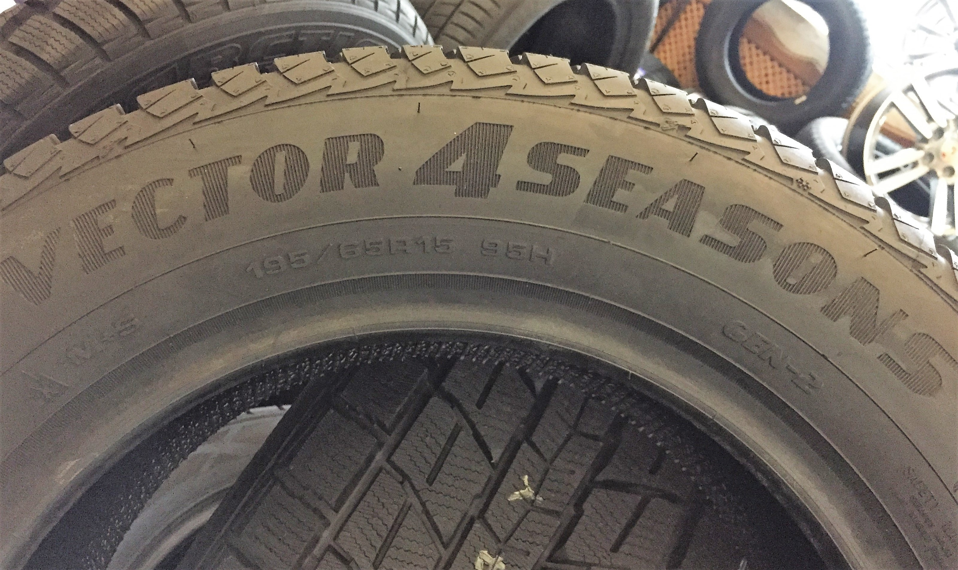 резина Goodyear Vector 4 Seasons G2